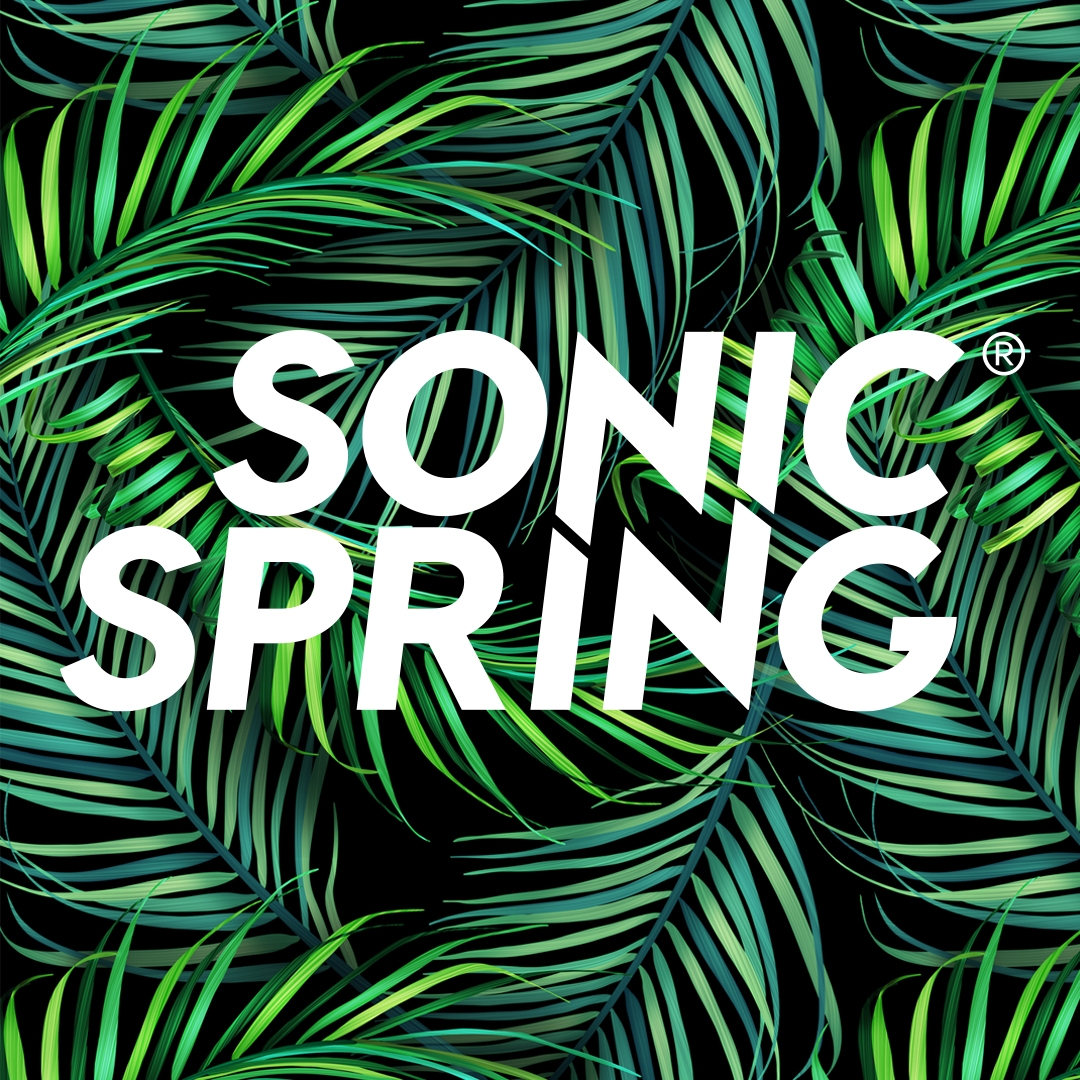 Instagram sonicspring design logo